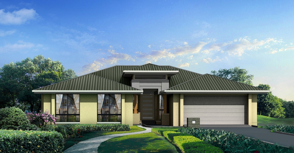 New home design bayview perry homes nsw qld for New home designs qld