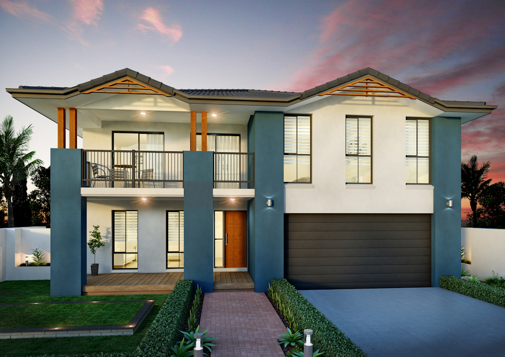 New Home Design Beach House Perry Homes Nsw Qld
