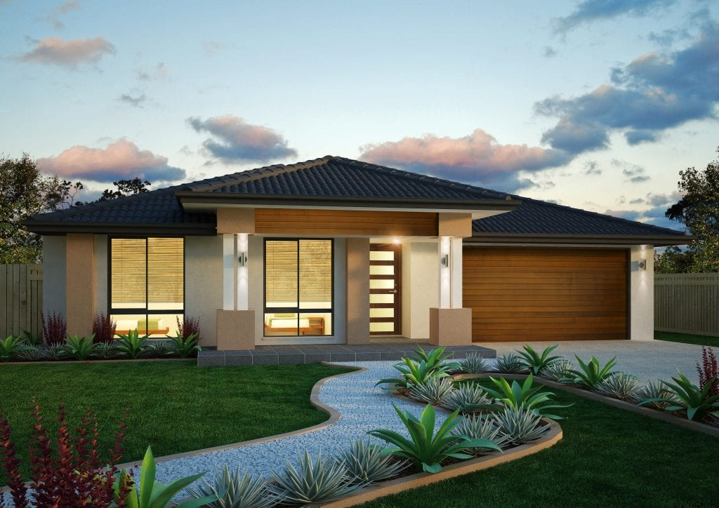 New home design palazzo perry homes nsw qld for New home designs qld