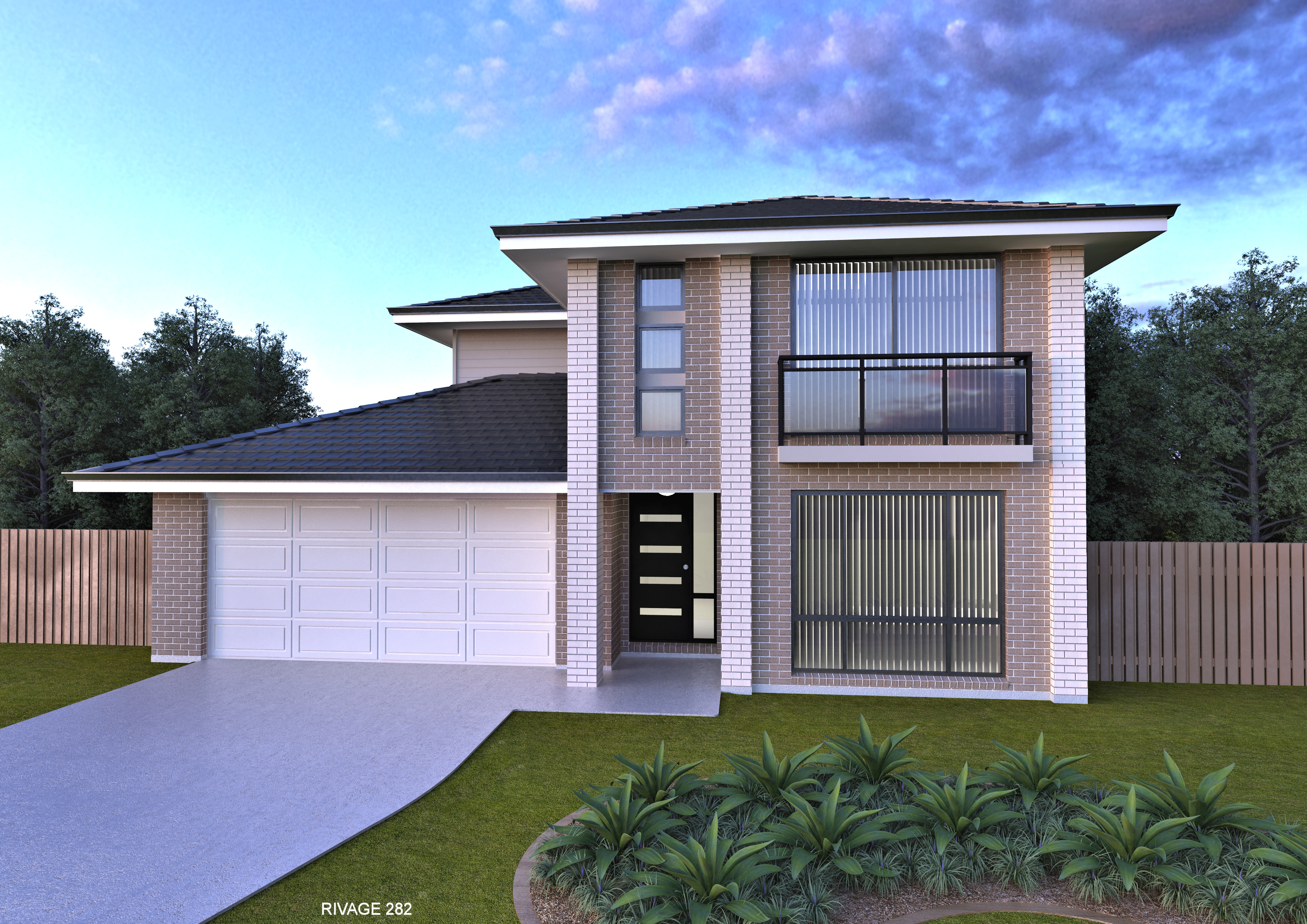 New home design rivage perry homes nsw qld for New home designs queensland