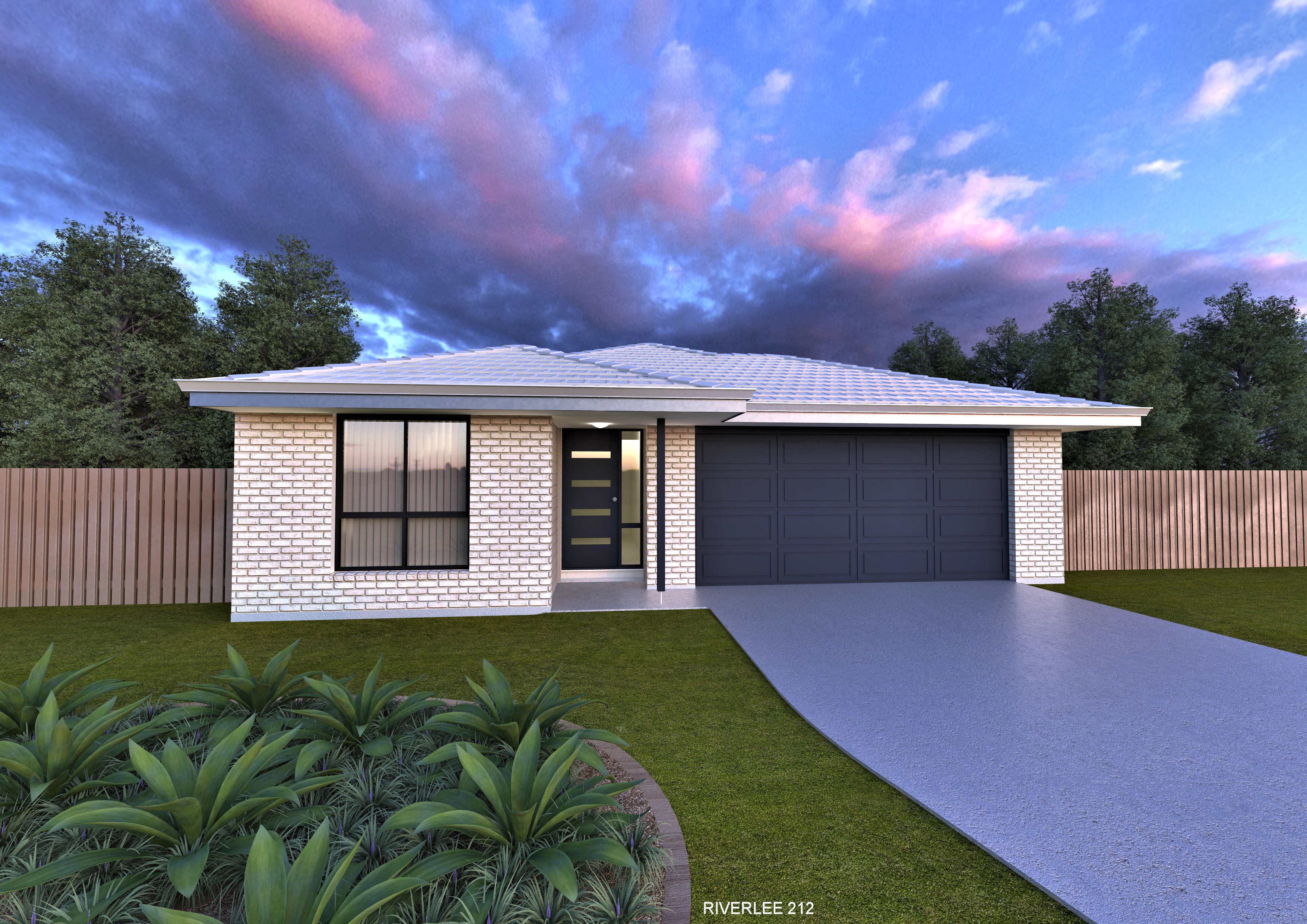 New home design rivercourt perry homes nsw qld for Perry home designs