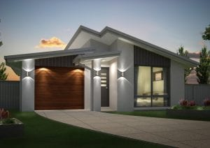narrow block new house design