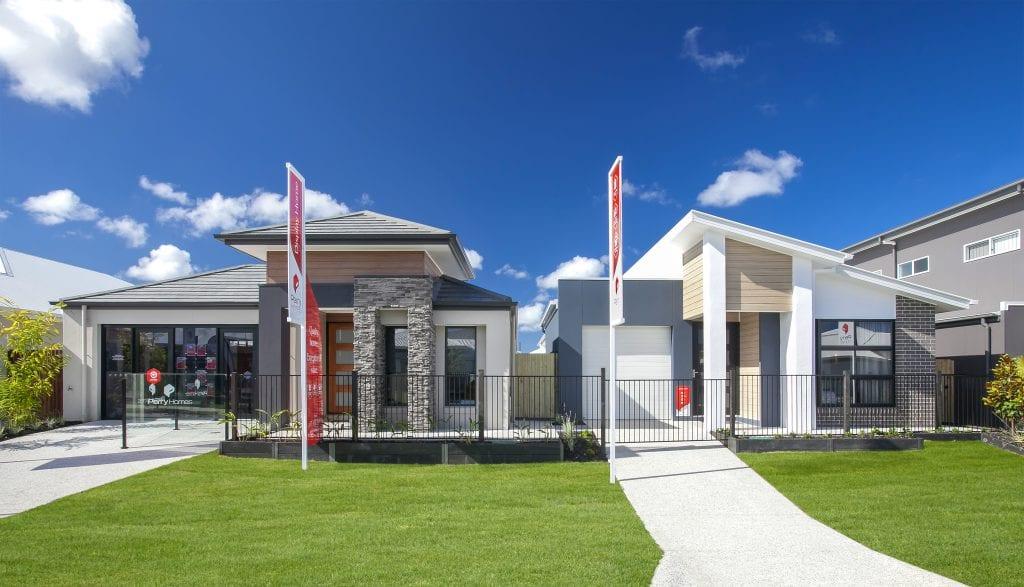 Palmview Displays New Home