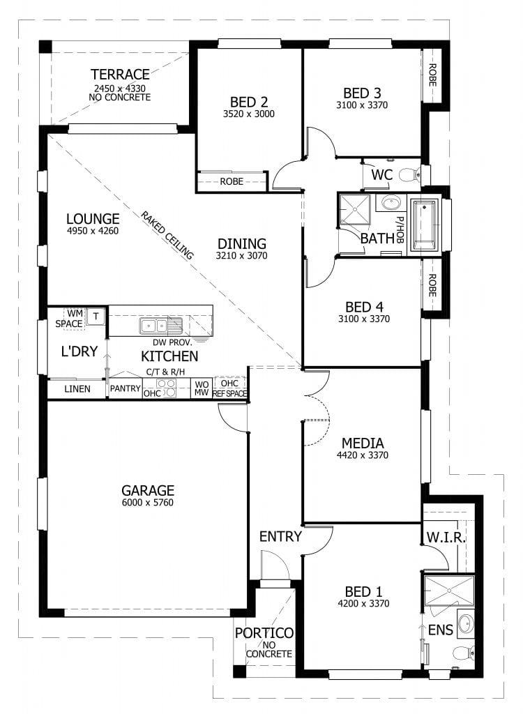 Home Design Floorplan