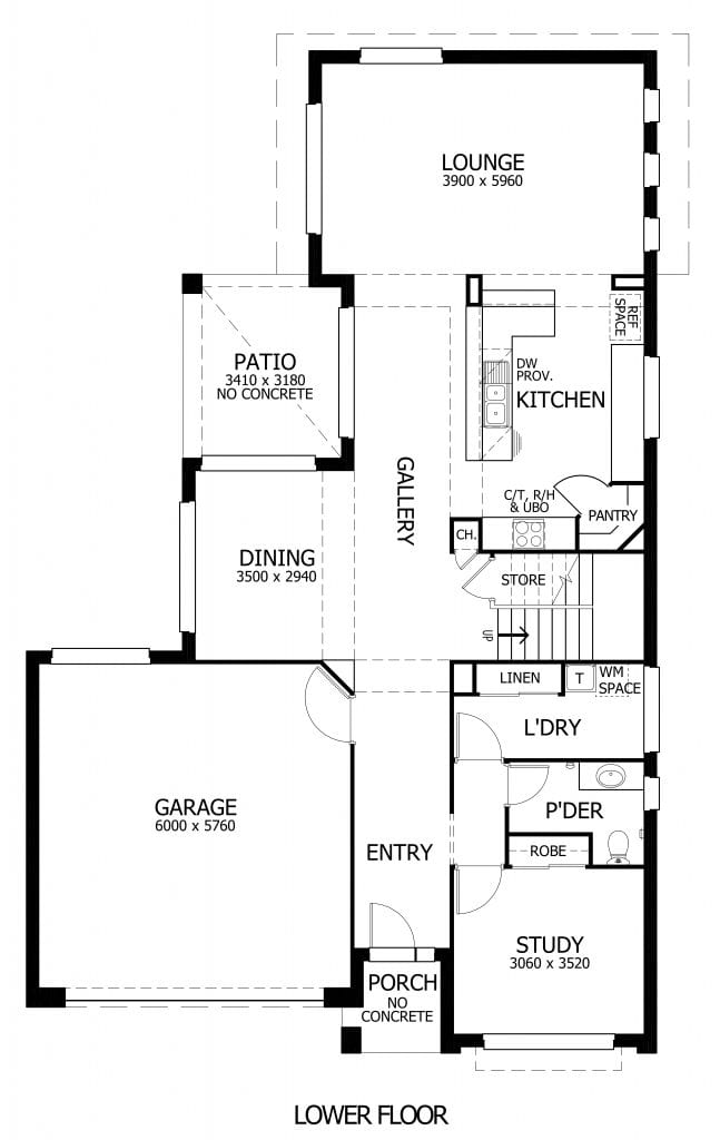 Home Design Floorplan
